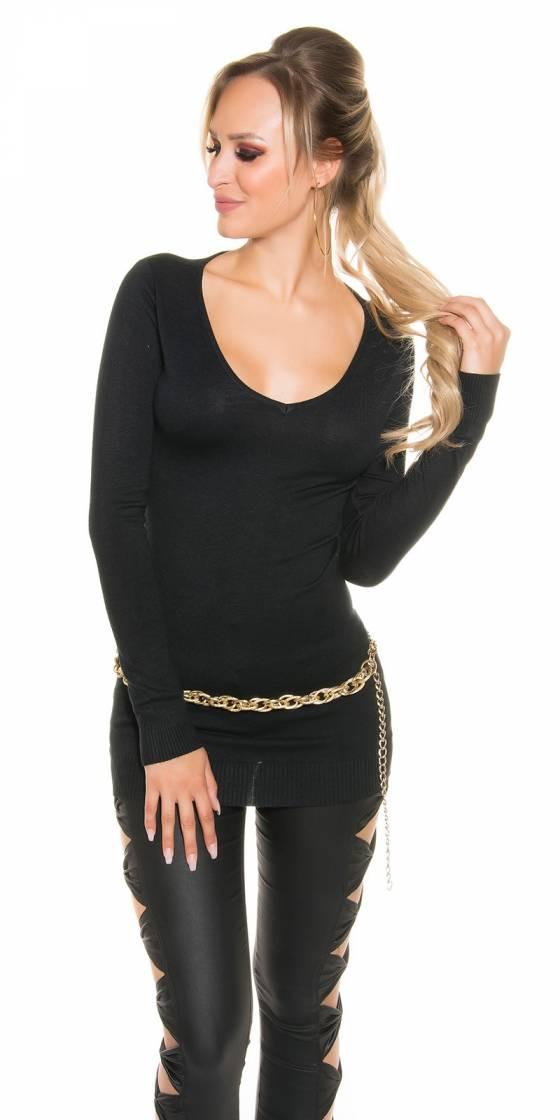 Sexy Fineknit-Longsweater...