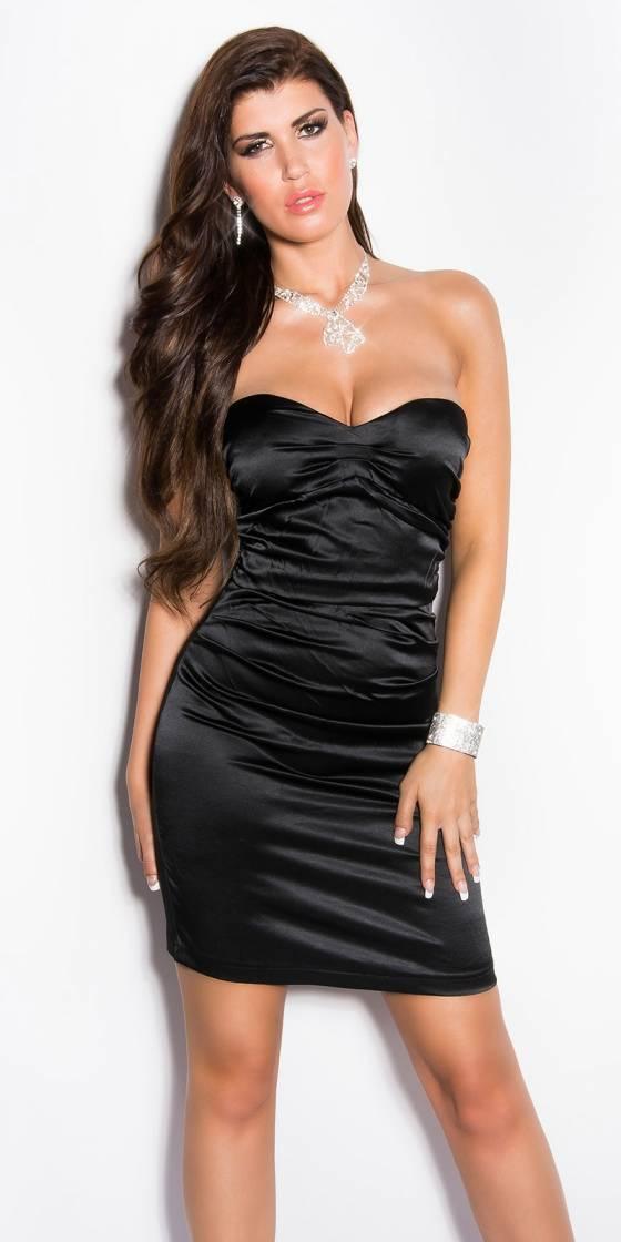 Sexy Satin-Cocktaildress,...