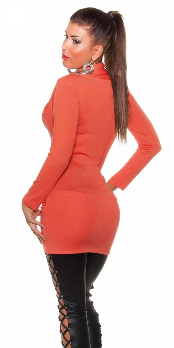 Sexy 2-in-1 knitdress with...