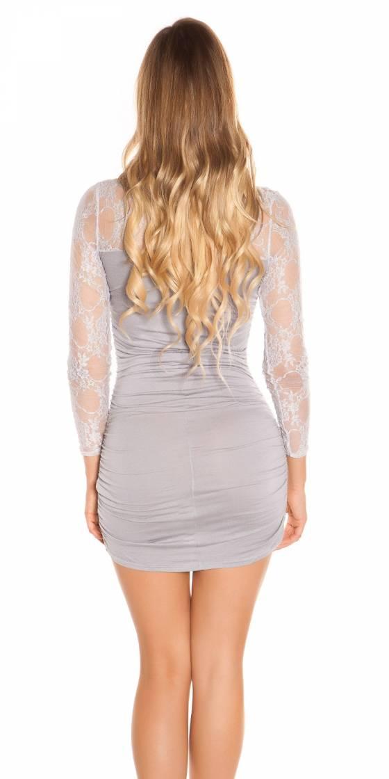 Sexy long sleeve mini dress...