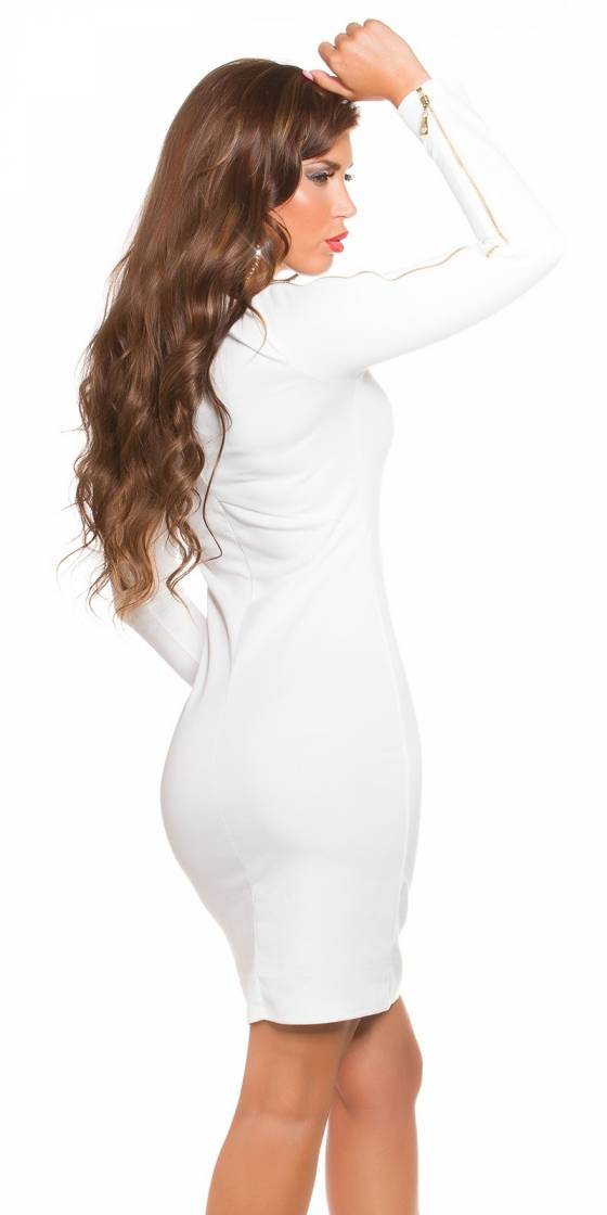 trendy Koucla dress with zip