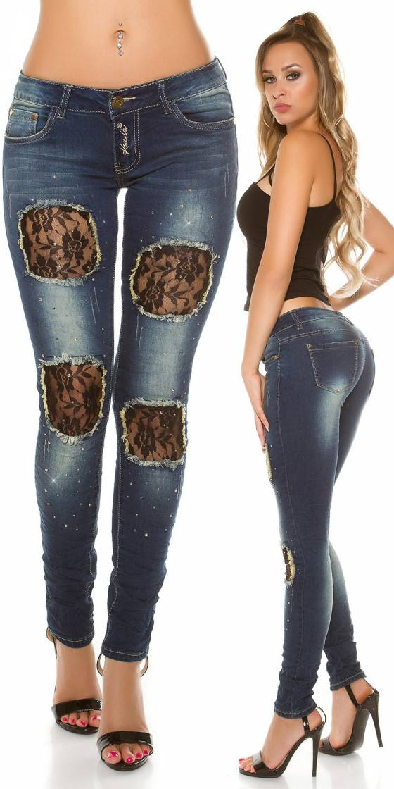 Jeans skinny sexy avec...