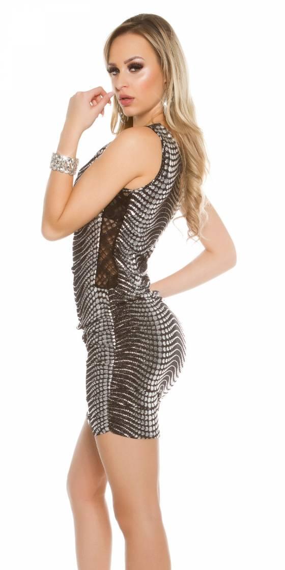 Mini robe de soirée sexy