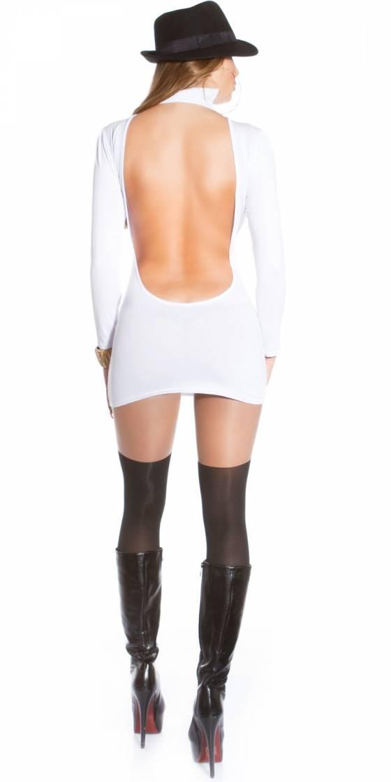 Mini robe sexy avec dos nu