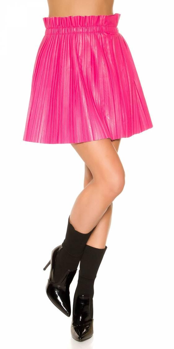 Mini jupe plissée sexy...