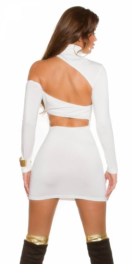 Sexy KouCla mini dress with...