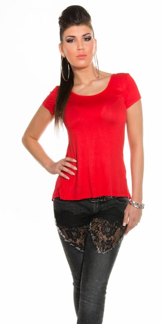 Robe-Long pull à strass tendance SELENA couleur bordeaux