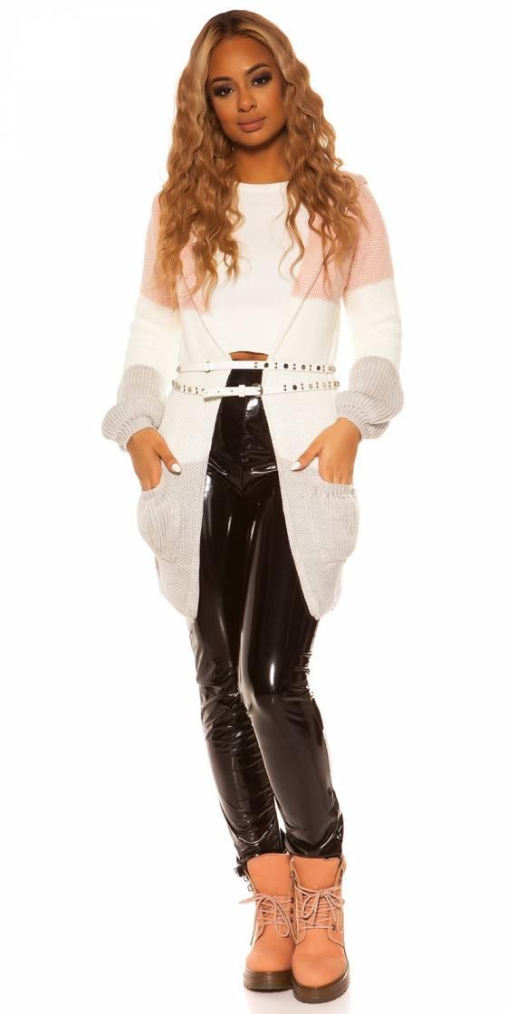 Veste gilet fashion tendance JESSICA couleur gris