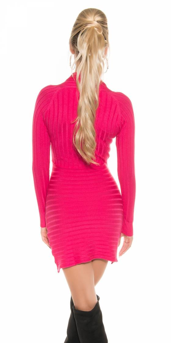 Sexy Knit-minidress with...