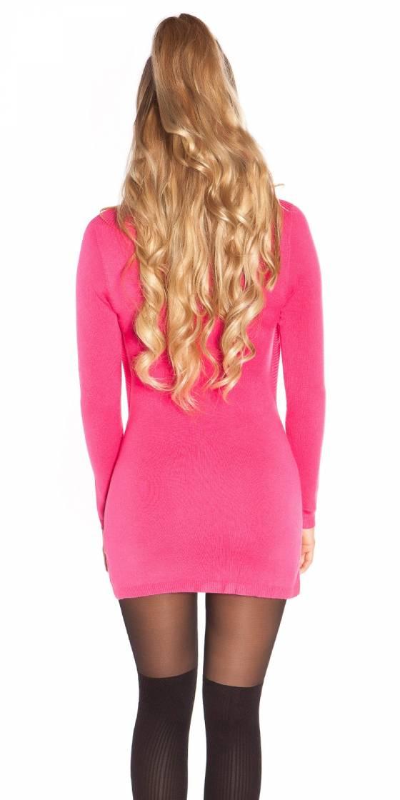 Sexy knit mini dress 2in1