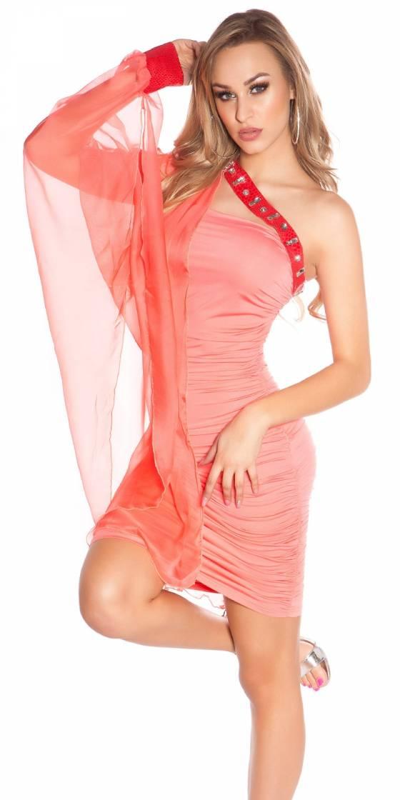 Sexy one-arm-minidress,...