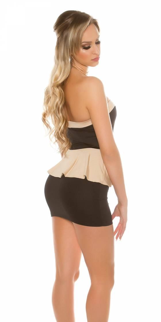 Mini robe sexy bandeau avec...
