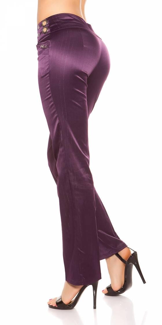 Robe fashion glamour VERA couleur bleu royal