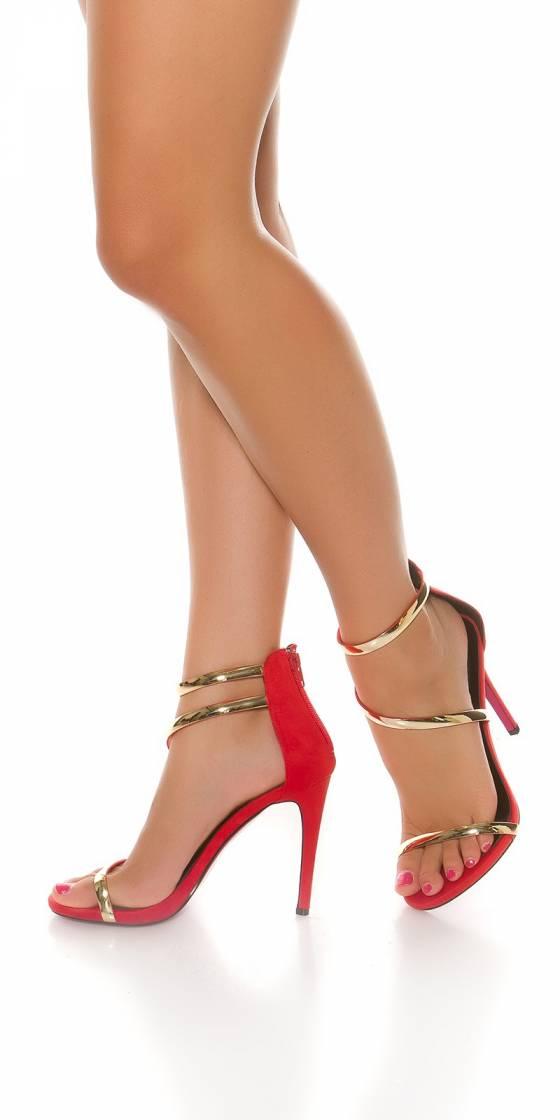 Sandale sexy à hauts talons