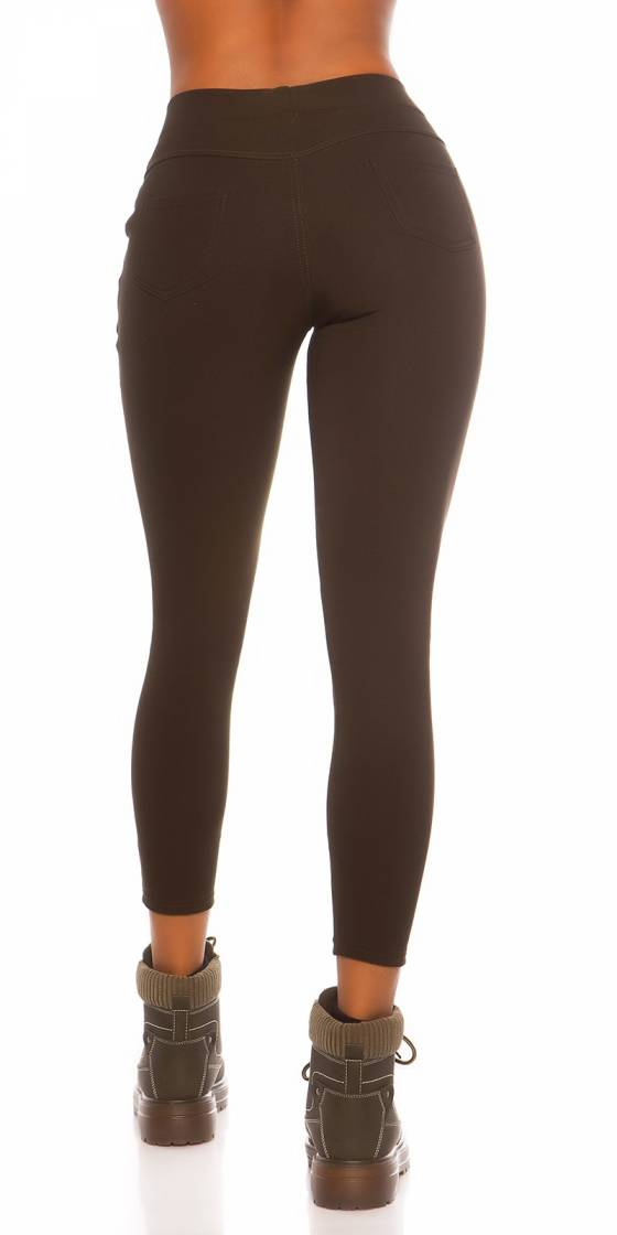 Trendy High Waist Thermo...