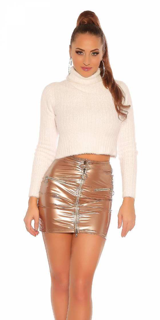 Mini jupe sexy simili cuir...