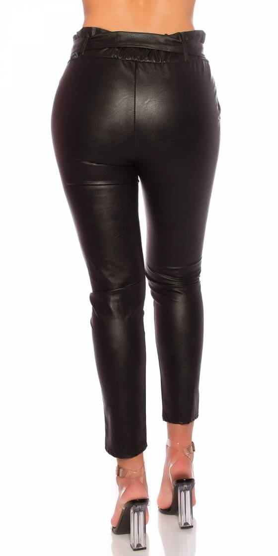 Treggings fashion sexy KELLY couleur noir