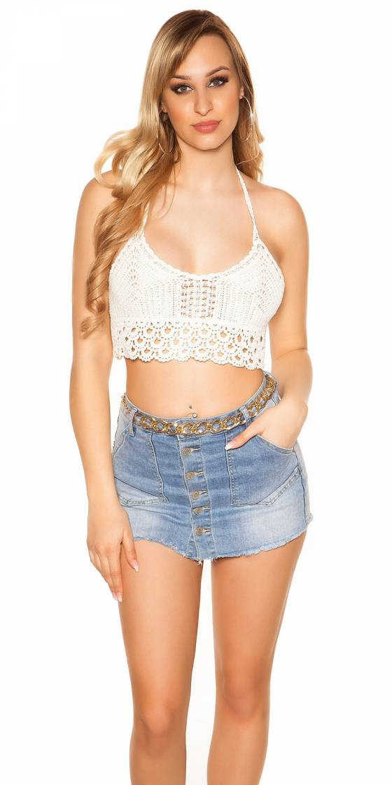 Sexy Crochet Crop Top