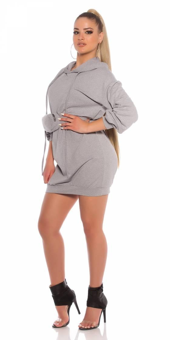 Trendy Hoodie Mini dress...