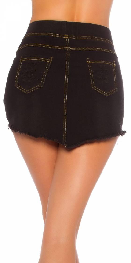 Sexy Jeans Mini skirt