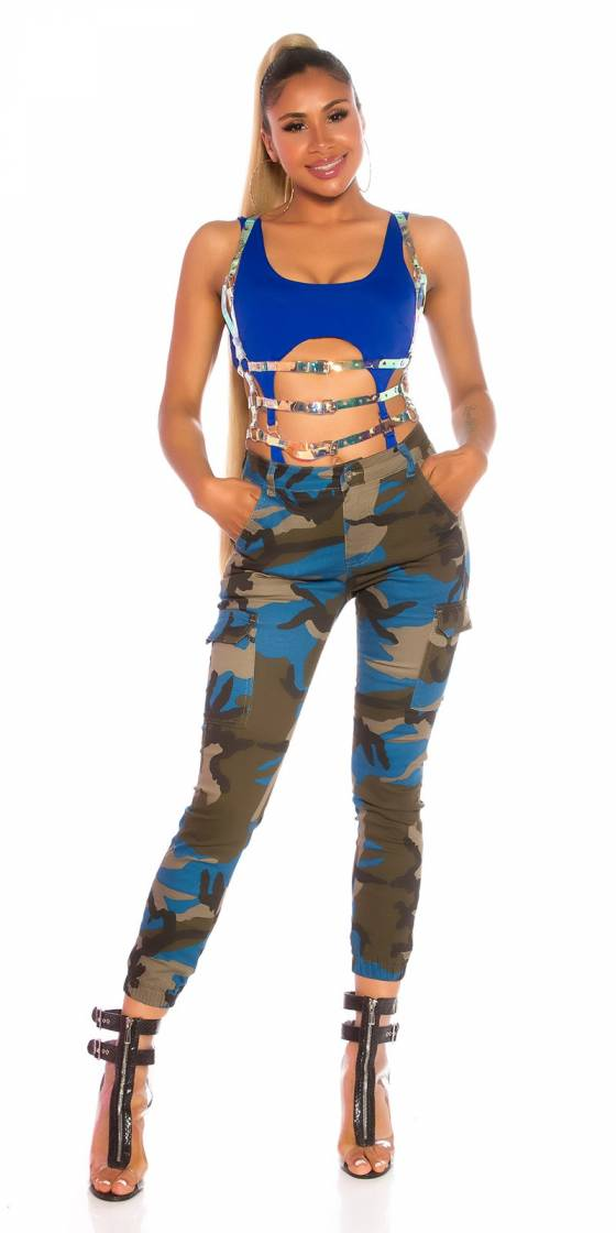 Jeans sexy camouflage