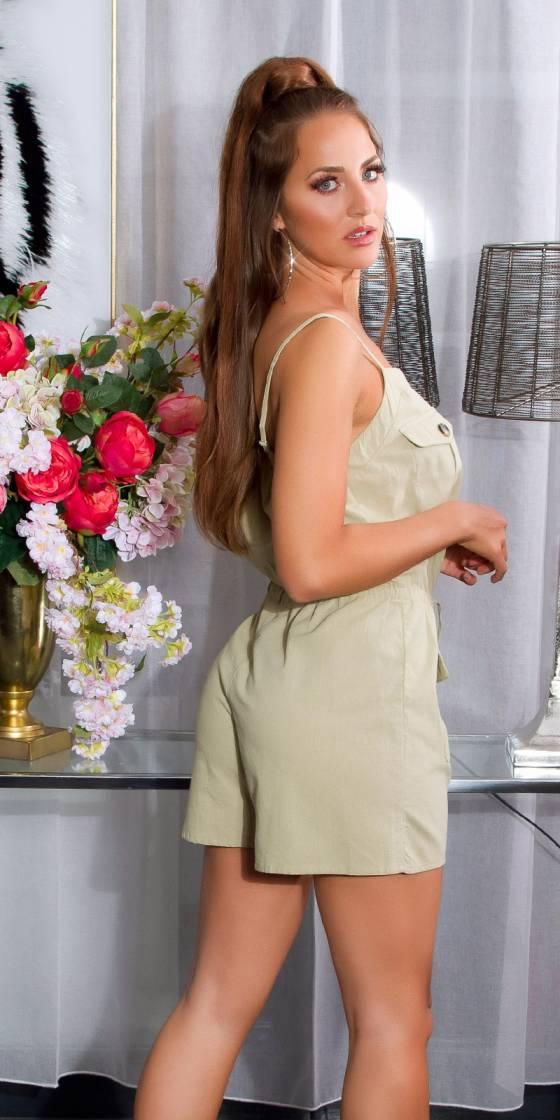 Sexy linen look Jumpsuit...