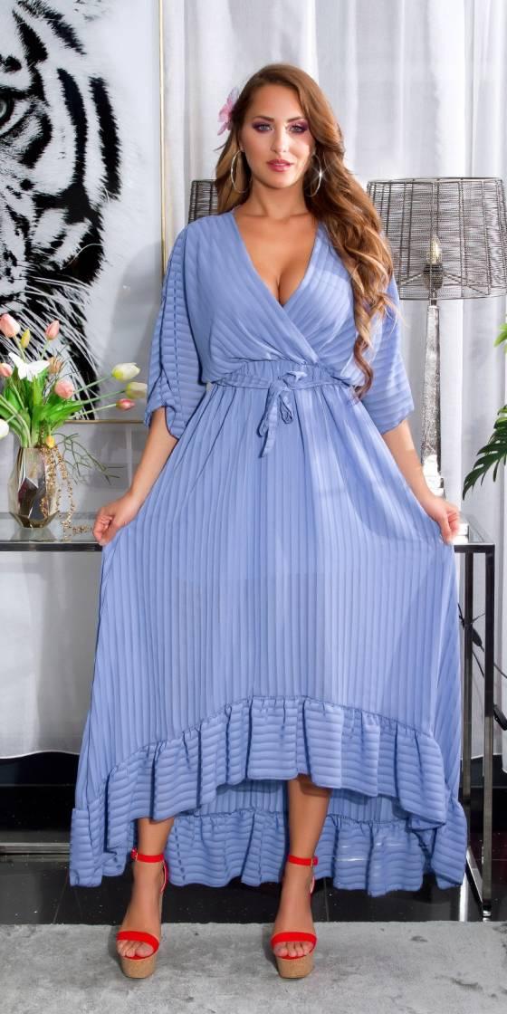 Top sexy glamour MARION couleur bleu