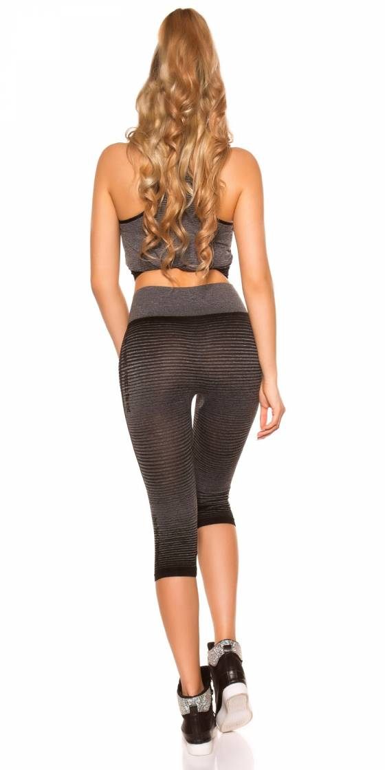 Trendy Workout Outfit Top +...