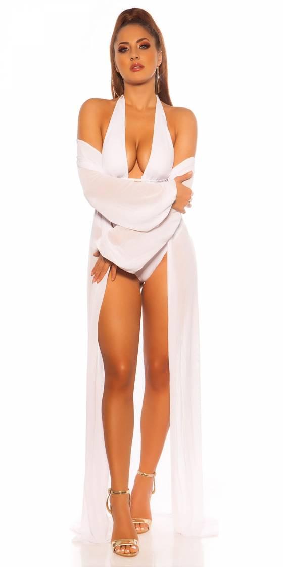 Sexy KouCla Neck Monokini...