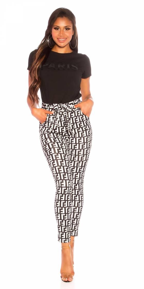 Pantalon sexy à taille...