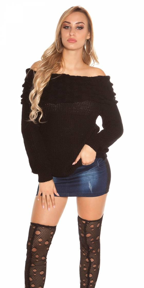 Trendy KouCla rough knitted...