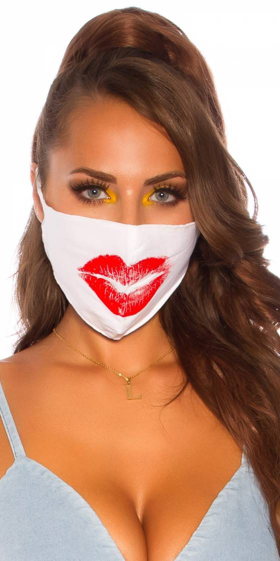 """Trendy washable Mask """"kiss"""""""