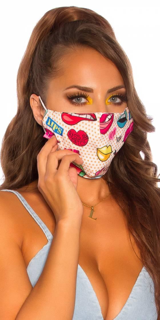 Masque lavable tendance...