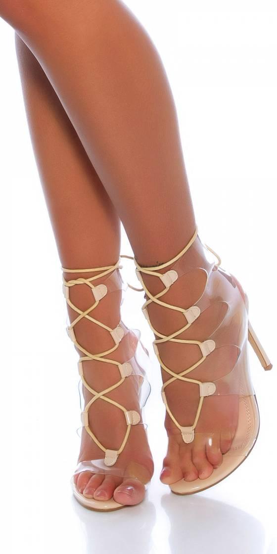 Sandales sexy à talons...