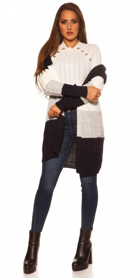 Trendy KouCla knit cardigan...