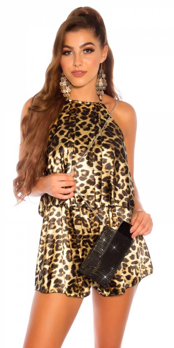 Monokini sexy nouvelle collection ELSA couleur léopard