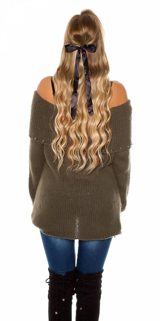Pull en laine tendance avec...