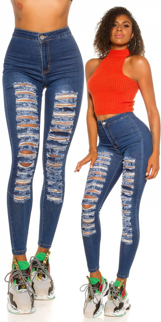 Jeans skinny sexy taille...