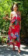 Trendy spaghetti strap maxi dress