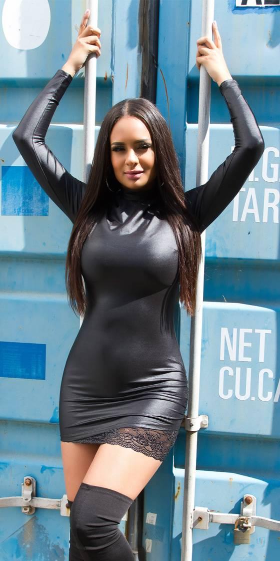 Trendy Koucla Turtleneck Dress