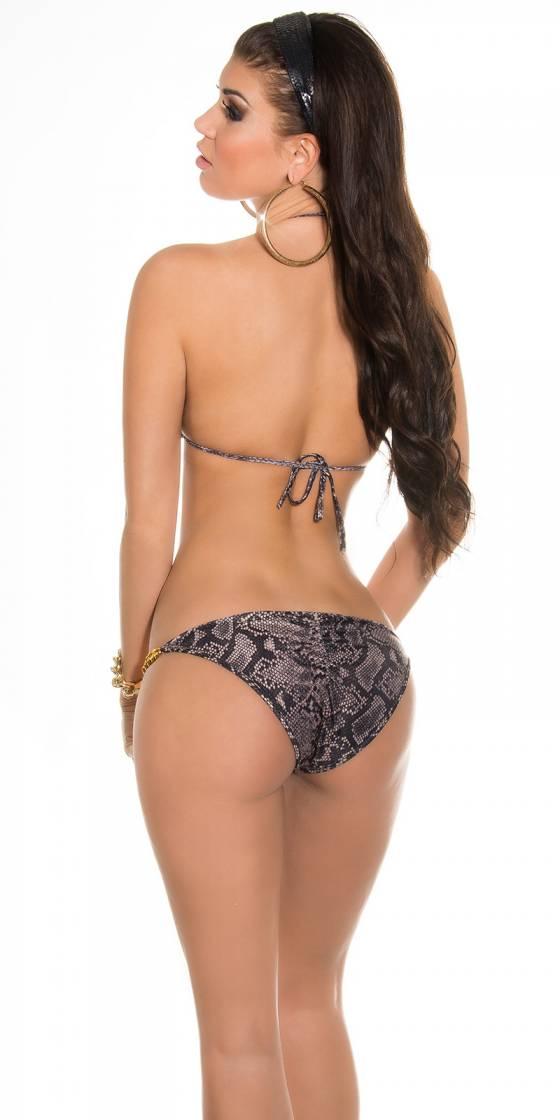 Bikini sexy imprimé animal