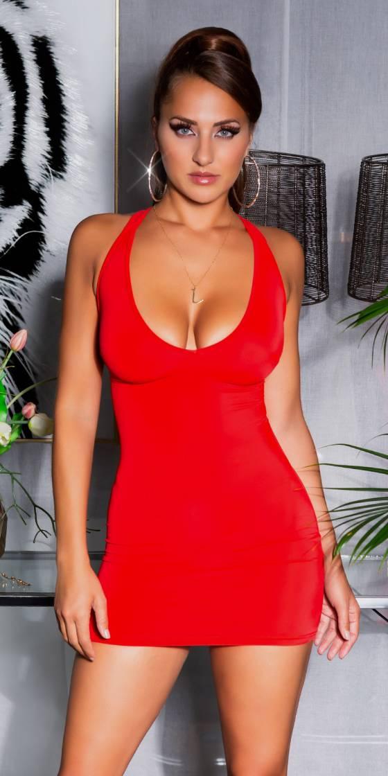 Mini robe dos nu sexy avec...