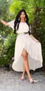 Sexy off- shoulder maxidress goddess-look
