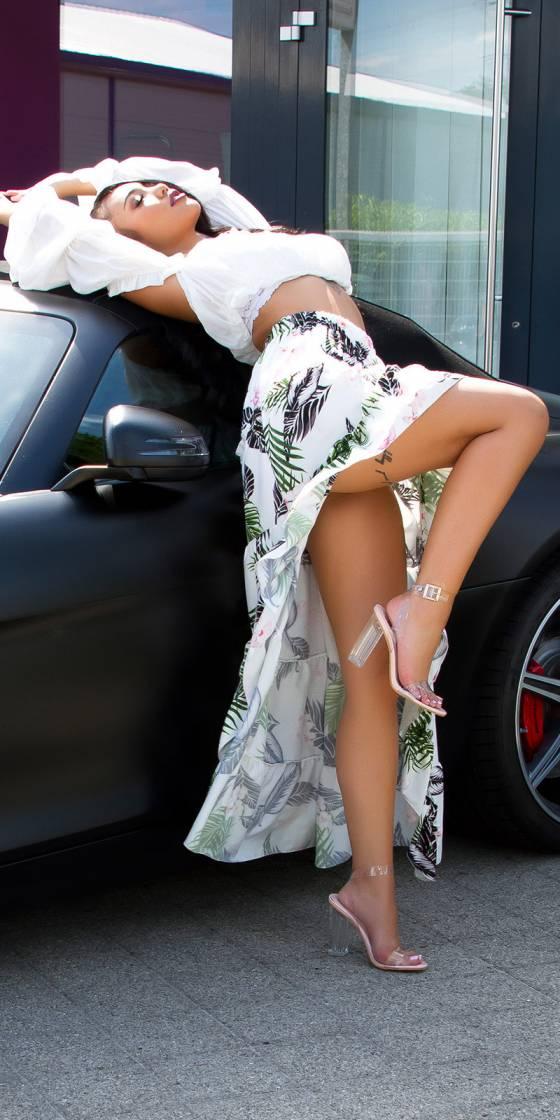 Jupe longue sexy  style...