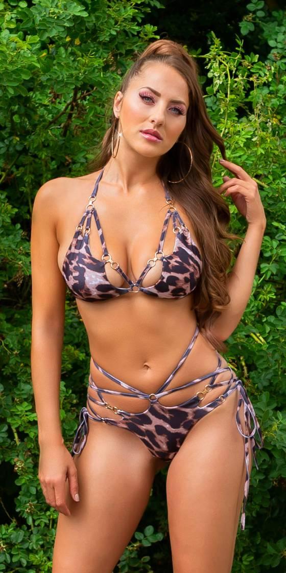 Sexy Koucla neck bikini /...