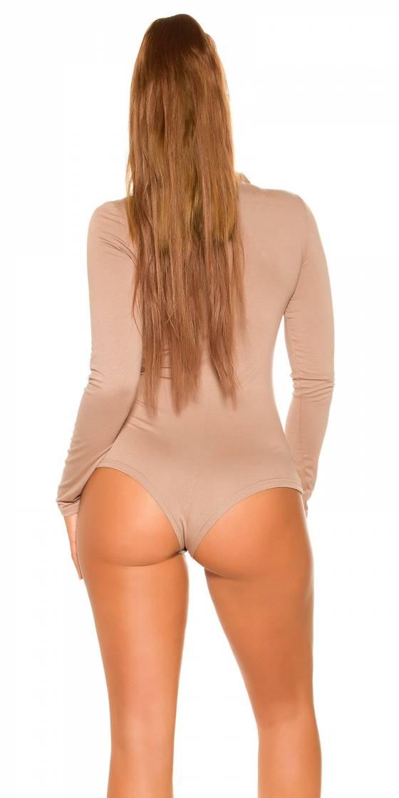 Top sexy Tendance Fashion ADELYNE couleur beige