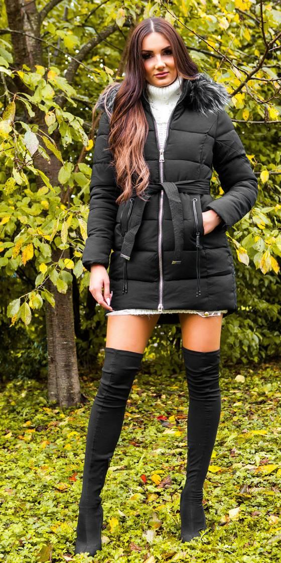 Trendy winter jacket w....