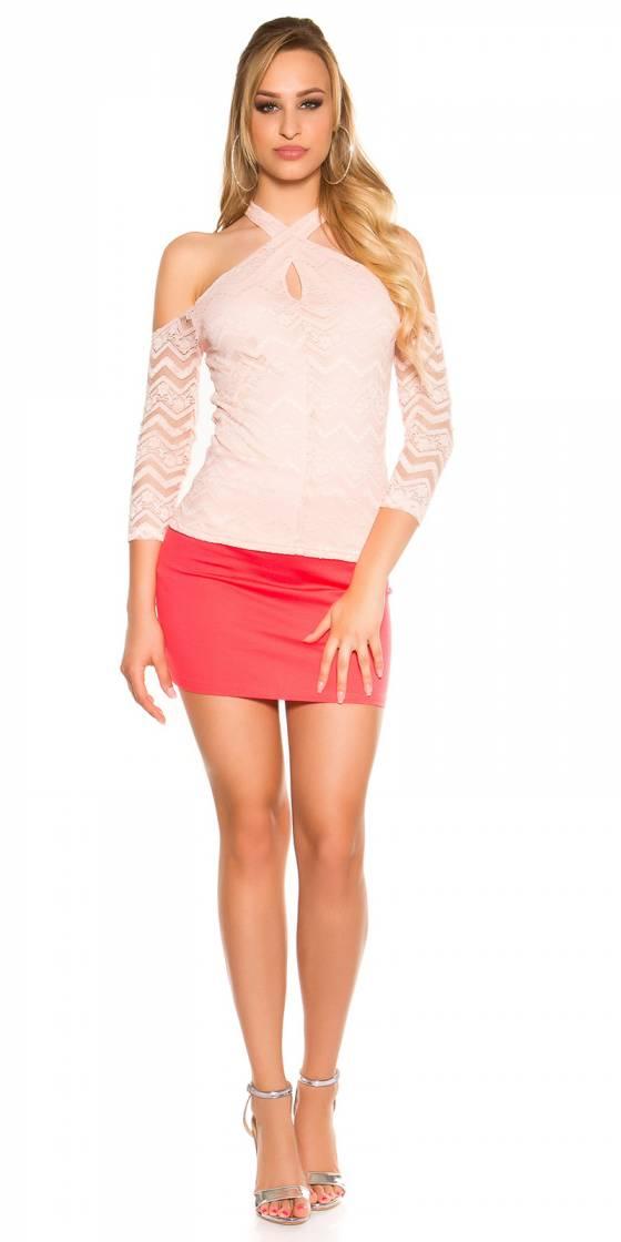 Robe Tendance Fashion ANGELINE couleur rose