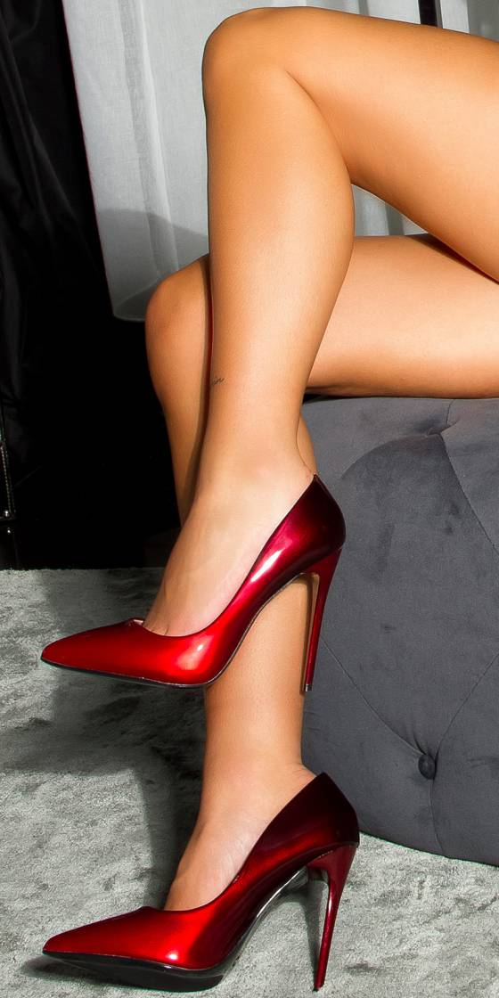 Sexy two color High Heel Pumps