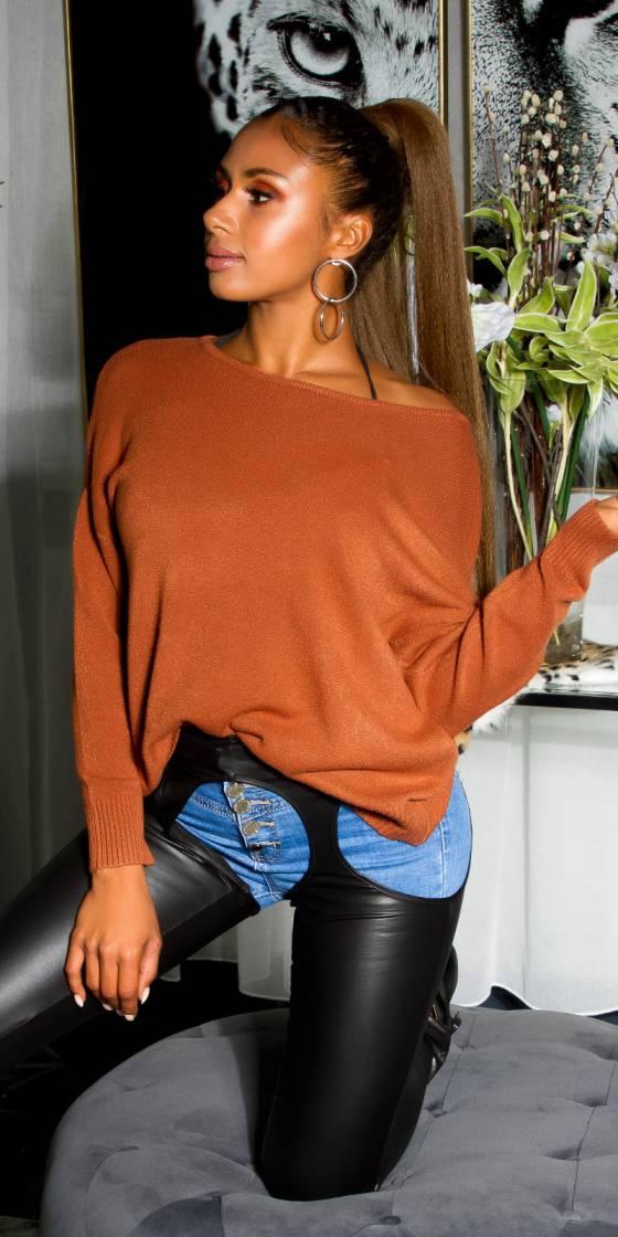 Combi sarouel tendance ELISE couleur turquoise